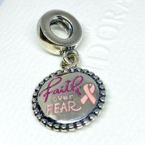 Pandora Faith Over Fear Charm